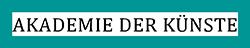 Logo Akademie der Künste